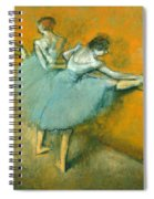 Dancers At The Barre Spiral Notebook
