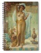 Dancing Beauty Spiral Notebook