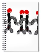 Dancing Spiral Notebook