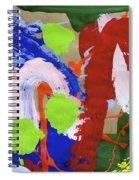 Dancing Clown Spiral Notebook