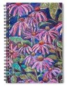 Dancing Coneflowers Spiral Notebook