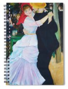 Dancing Couple  Spiral Notebook