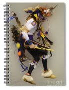 Pow Wow Dancing For The Spirit Spiral Notebook