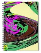 Dancing Goose 2 Spiral Notebook