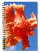 Dancing Hibiscus Spiral Notebook