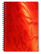 Dancing In The Fire Abstract Spiral Notebook