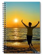 Dancing In The Sunlight Spiral Notebook