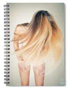 Dancing Nude Spiral Notebook