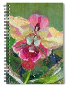 Dancing Orchid I Spiral Notebook