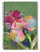 Dancing Orchid IIi Spiral Notebook