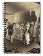 Dancing Party At Kagha-choura Spiral Notebook
