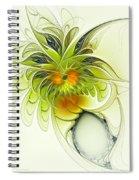 Dancing Petals Spiral Notebook