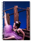 Dancing Princess Spiral Notebook