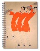 Dancing Song Spiral Notebook