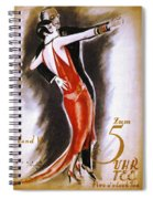 Dancing The Tango Spiral Notebook