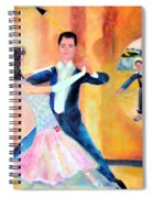 Dancing Through Time Spiral Notebook