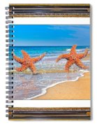 Dancing To The Beat Of The Sea Spiral Notebook