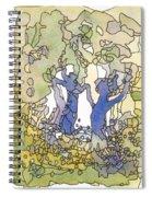 Dancing Trees Spiral Notebook
