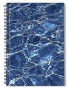 Dancing Water 5 Spiral Notebook