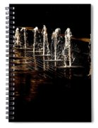 Dancing Waters Spiral Notebook