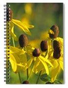 Dancing Wildflowers Spiral Notebook