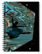 Dancing With The Stars-featured In Harmony And Happiness Group Spiral Notebook