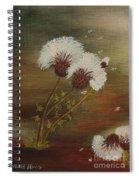 Dandelion 2 Spiral Notebook