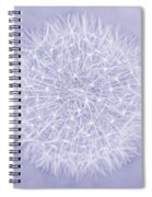 Dandelion Marco Abstract Lavender Spiral Notebook