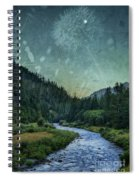 Dandelion Moon Spiral Notebook