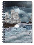 Danger Ahead Spiral Notebook