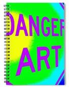 Danger Art Spiral Notebook