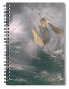 Danger At Sea Spiral Notebook