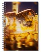 Danger Ride Spiral Notebook