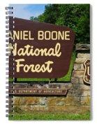 Daniel Boone Spiral Notebook