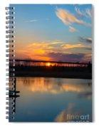 Daniel Island Sunset Spiral Notebook