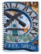 Danish Mill Bakery In Solvang California Spiral Notebook