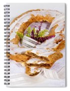 Danish Pastry Ring With Pecan Filling Spiral Notebook