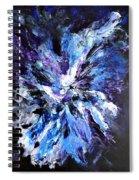 Dans La Penombre Des Abysses Spiral Notebook