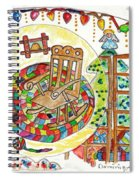 Dans Nos Vieilles Maisons / In Our Old Houses Spiral Notebook