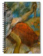 Danseuse A L'eventail Spiral Notebook