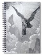 Dante And The Eagle Spiral Notebook