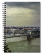 Danube River Spiral Notebook