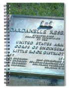 Dardanelle Plack Spiral Notebook
