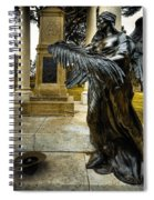 Dark Angel Spiral Notebook