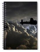 Dark Bombers  Spiral Notebook