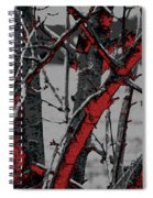 Dark Branches Spiral Notebook