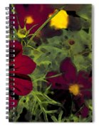 Dark Coreopsis' Spiral Notebook