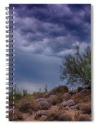 Dark Desert Skies  Spiral Notebook