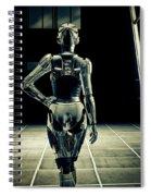 Dark Hall Spiral Notebook