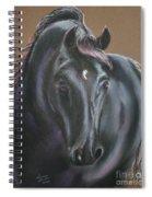 Dark Horse Spiral Notebook